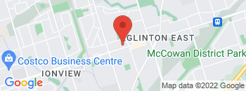 Google Map of 2584+Eglinton+Ave+east%2CScarborough%2COntario+M1K+2R5